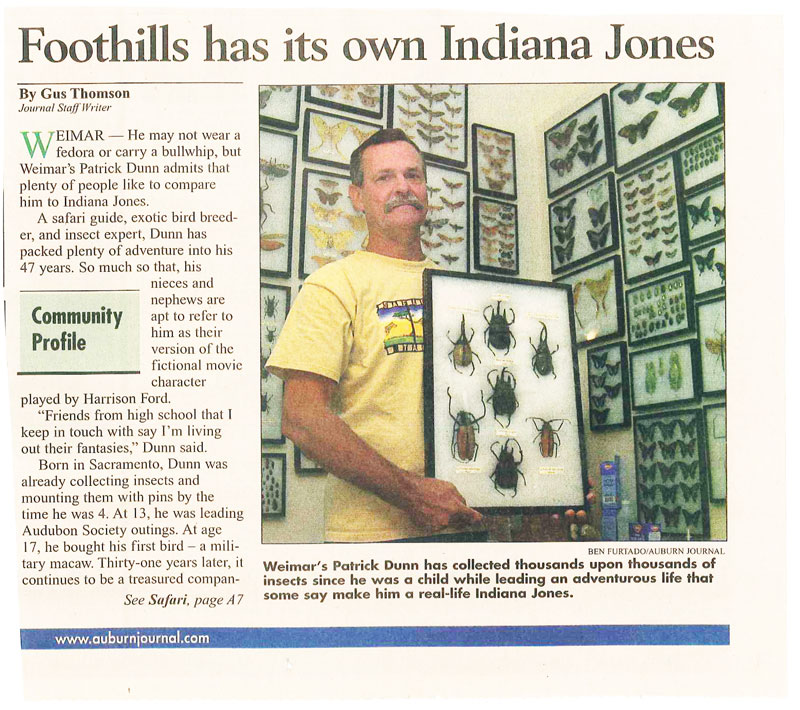 Newspaper-article_Foothill-has-its-own-Indiana-Jones